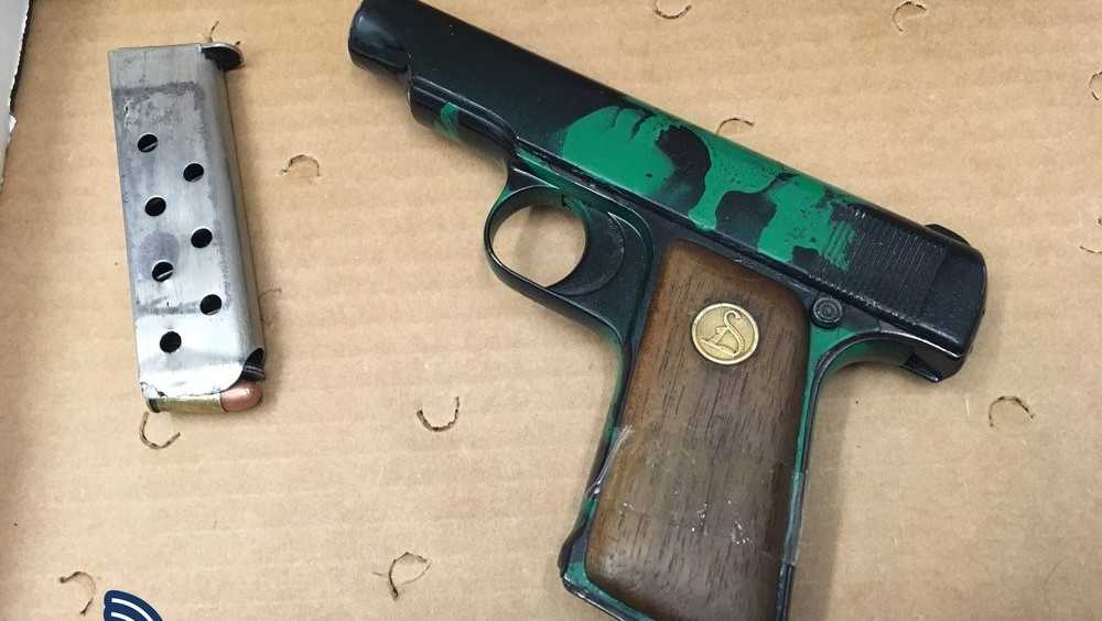 BPD student arrested with gun