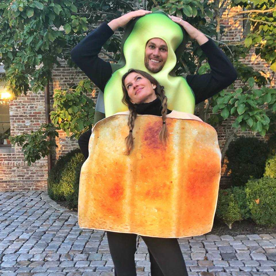 Tom Brady spends Halloween dressed as an avocado