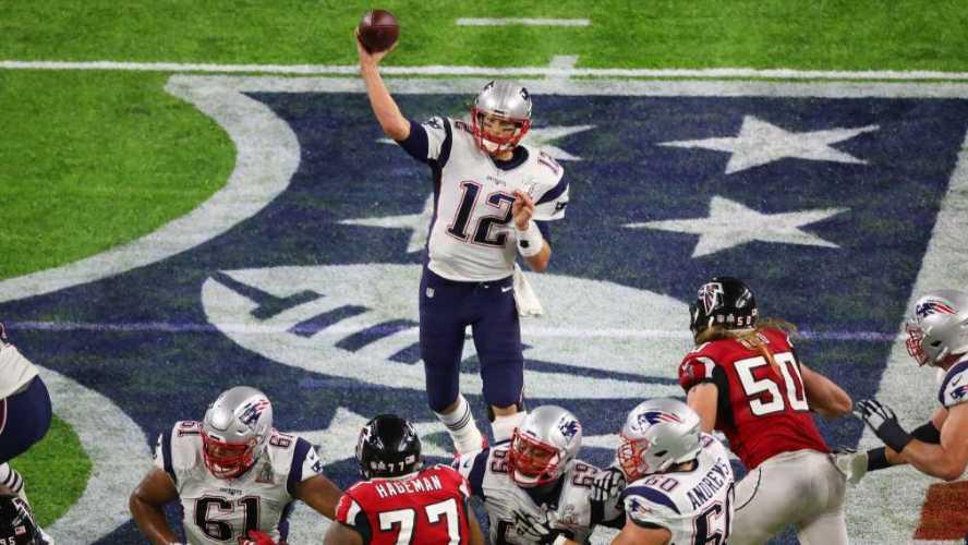 Tom Brady in Super Bowl LI