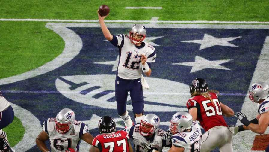 Tom Brady in Super Bowl LI