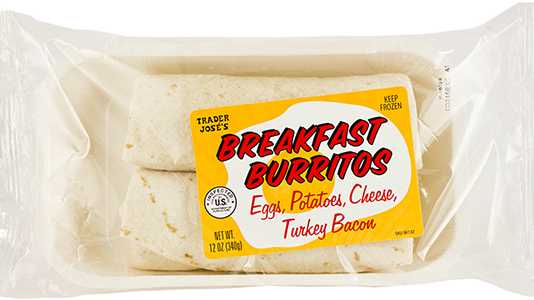 Recalled breakfast burritos