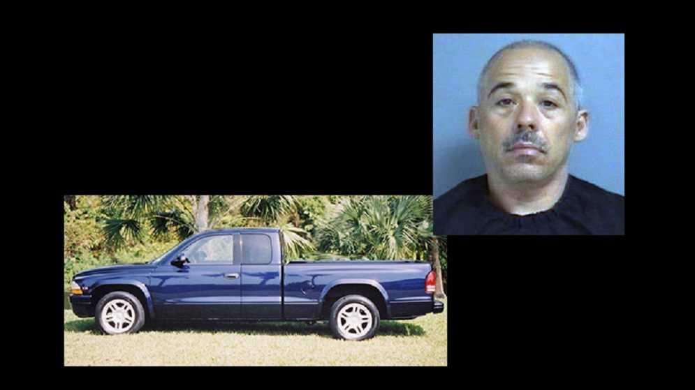 Brent Austin, stolen truck