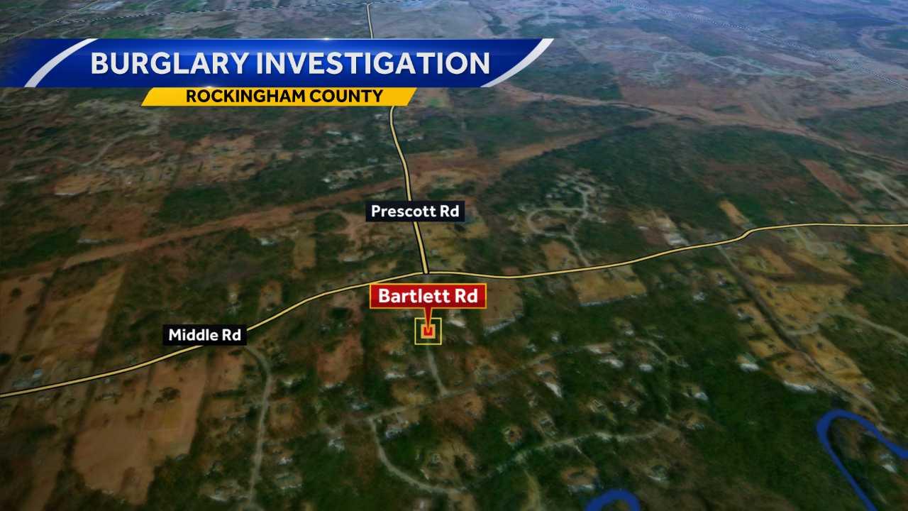 Brentwood police investigating burglary on Bartlett Road