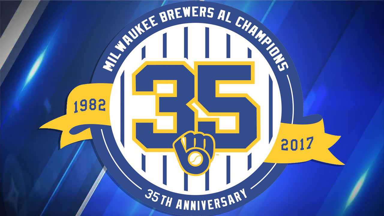 Milwaukee Brewers, 1982, 35th anniversary