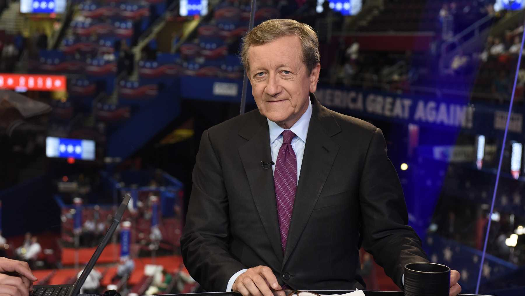 Brian Ross at the 2016 Republican National Convention in Cleveland, Ohio.