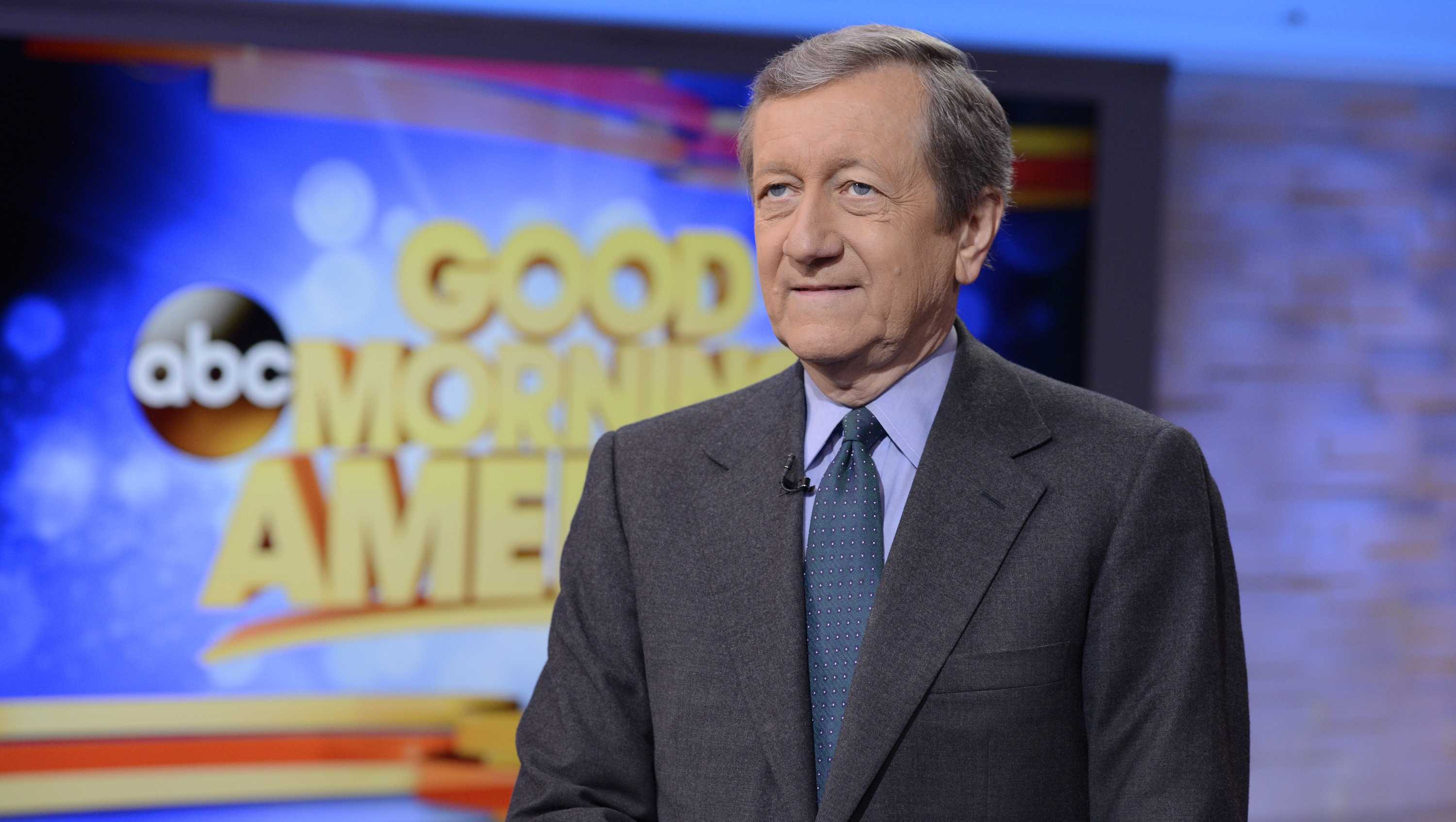 "Brian Ross on ABC's ""Good Morning America."""