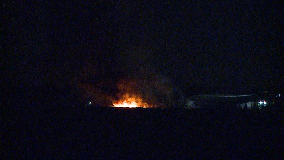 Council Bluffs Rail Road Bridge Fire