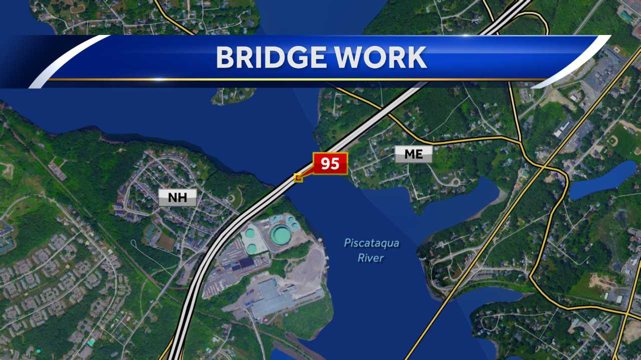 Lane closures on Piscataqua River Bridge to start April 27