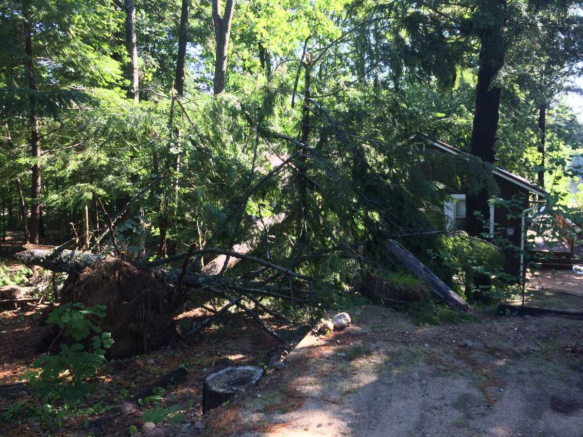 Bridgton Storm Damage