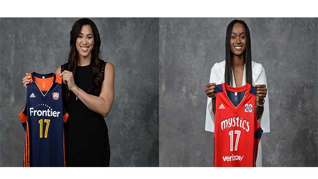 Brionna Jones and Shatori Walker-Kimbrough  were selected by the Connecticut Sun and Washington Mystics, respectively in the 2017 WNBA Draft.