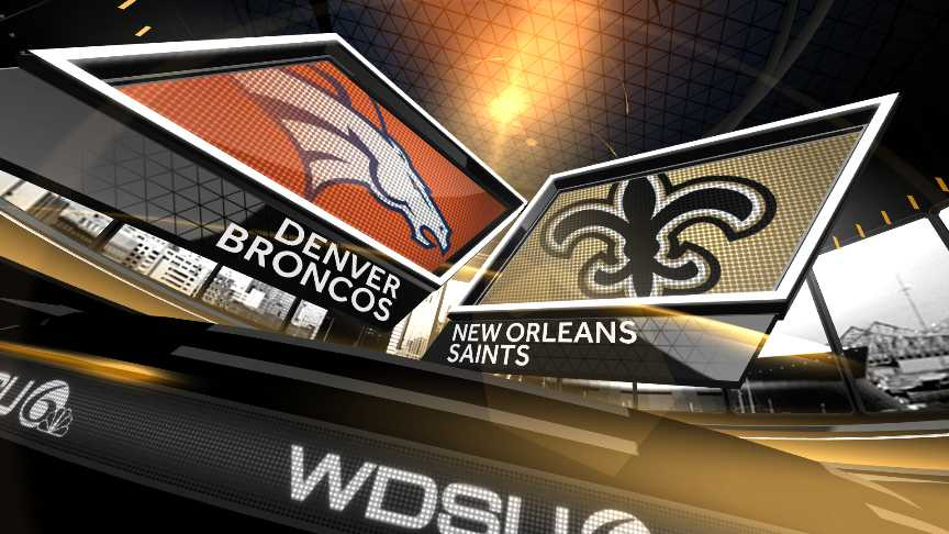 Broncos vs Saints