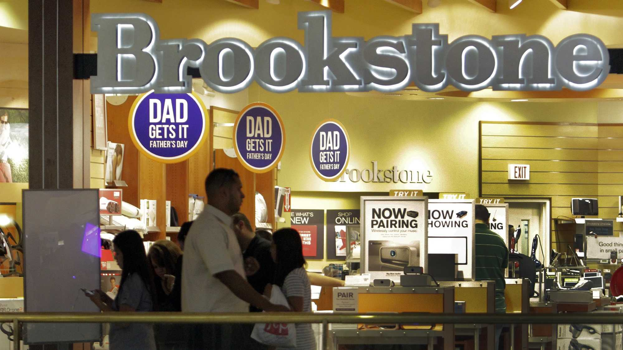 Shoppers at aBrookstone storein the Glendale Galleria on Jun. 12, 2012.