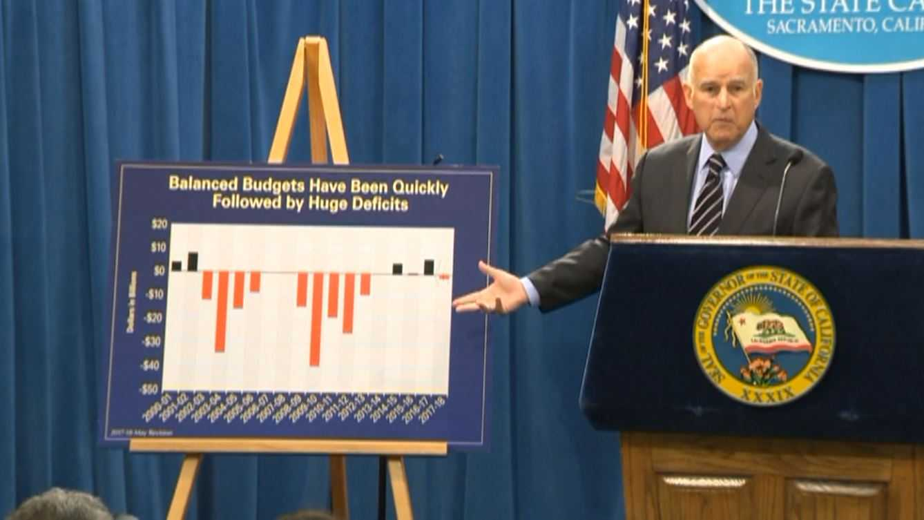 Gov. Brown unveiling revised spending plan