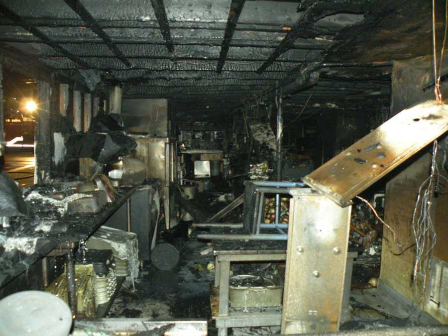 Photos: Fire devastates popular New England seafood restaurant
