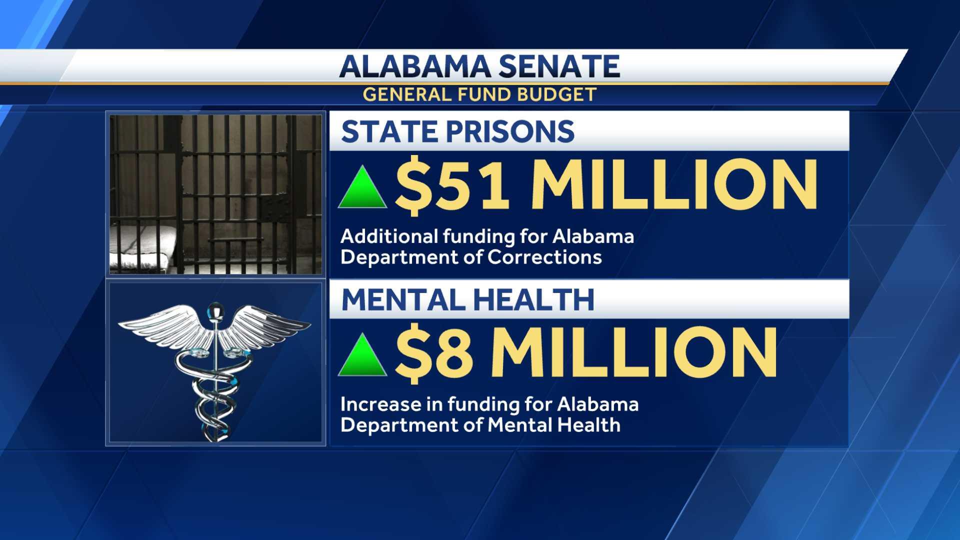 Alabama Senate General Fund Budget