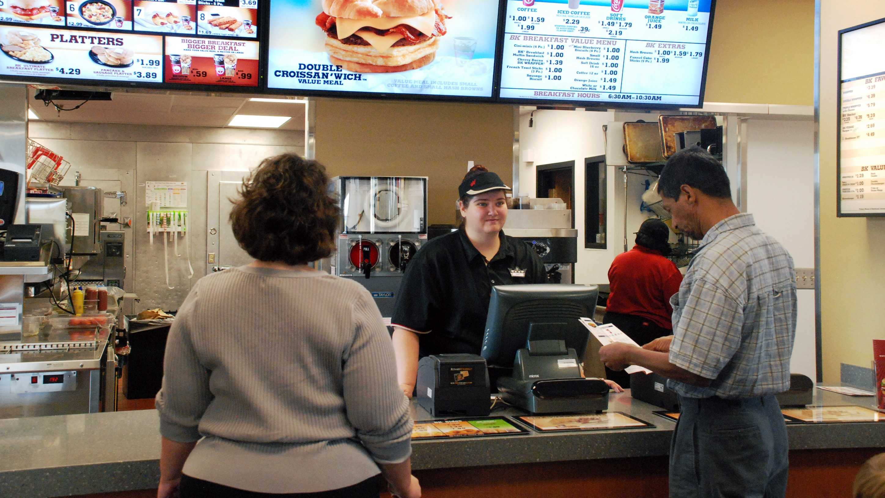 FILE image from inside a Burger King