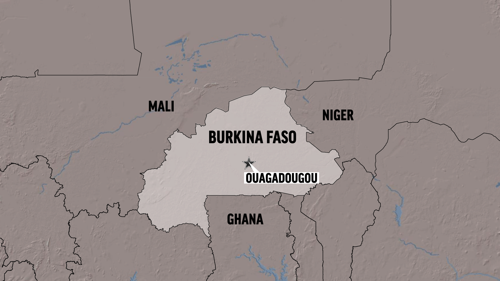 Burkina Faso forces kill 3 militants, hostages trapped in building