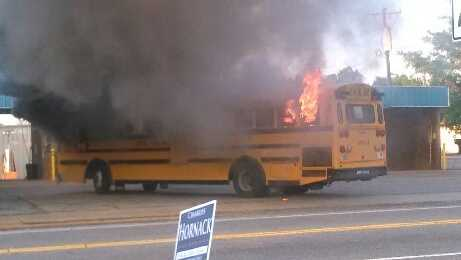 Duncan school bus fire