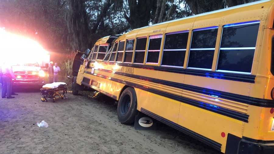 5-year-old girl killed in Georgia school bus crash