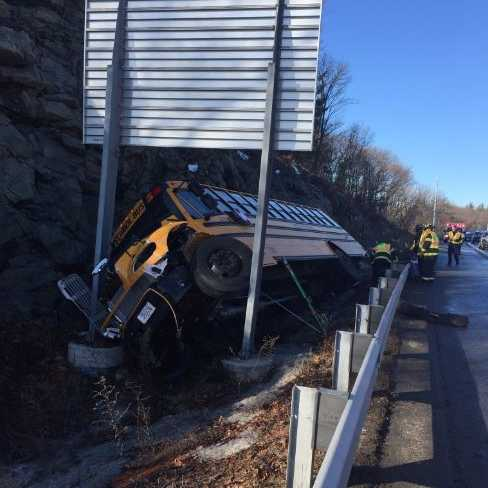 School bus crash on Rt. 128