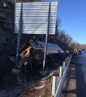 School bus crash on Rt. 128