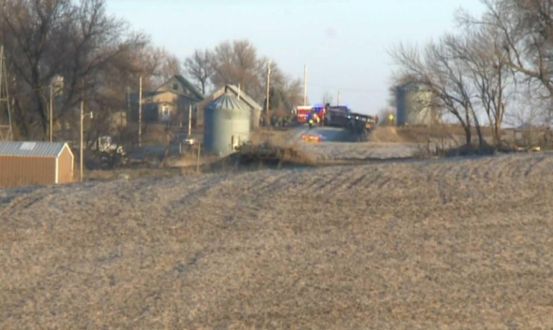 Two dead in Iowa bus fire