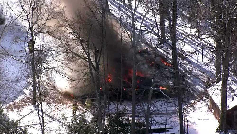 Butler Springs Road fire