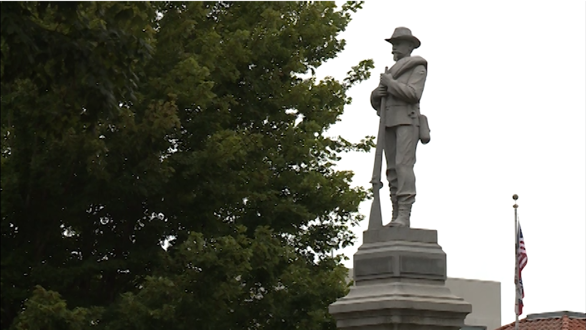 Bentonville's Confederate Statue