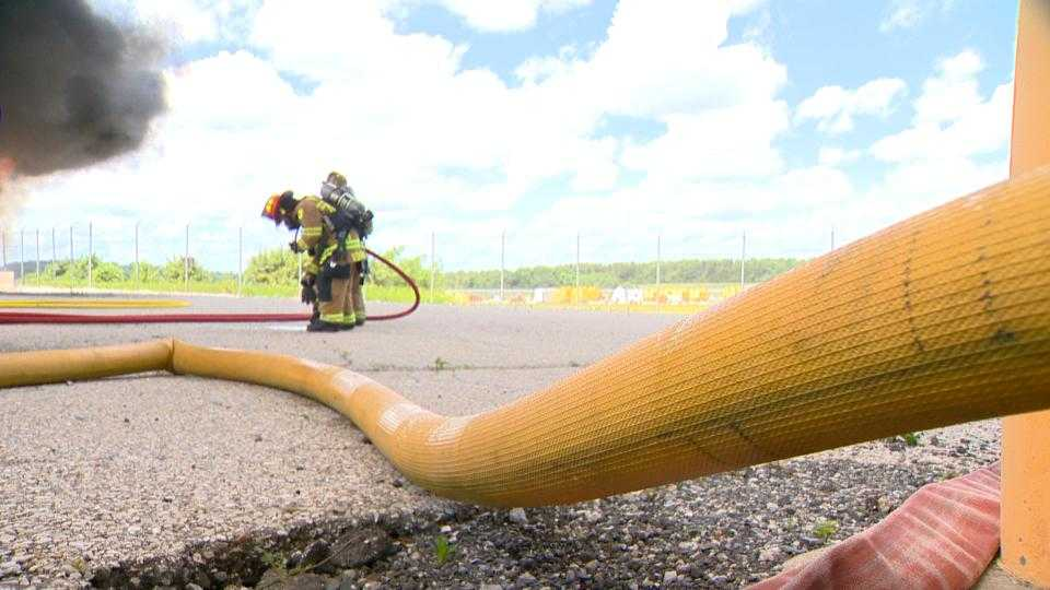 BWI-Marshall fire rescue training
