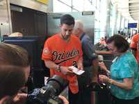 Orioles at BWI-Marshall