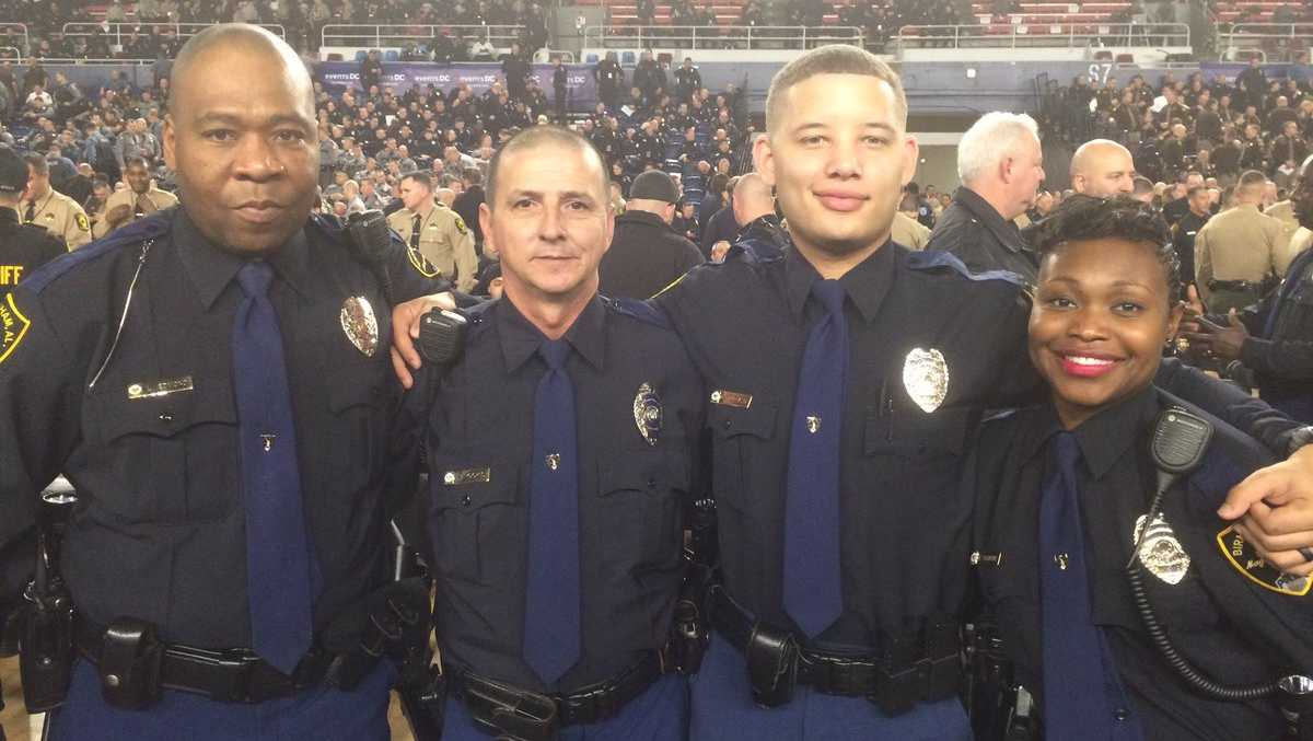 A group of 50 Birmingham police officers are in Washington, D.C. to help provide security detail for inaugural events