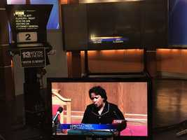 WVTM 13 coverage of Loretta Lynch in Birmingham