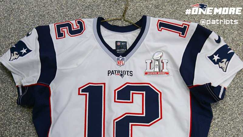 Jersey New Numbers Patriots England