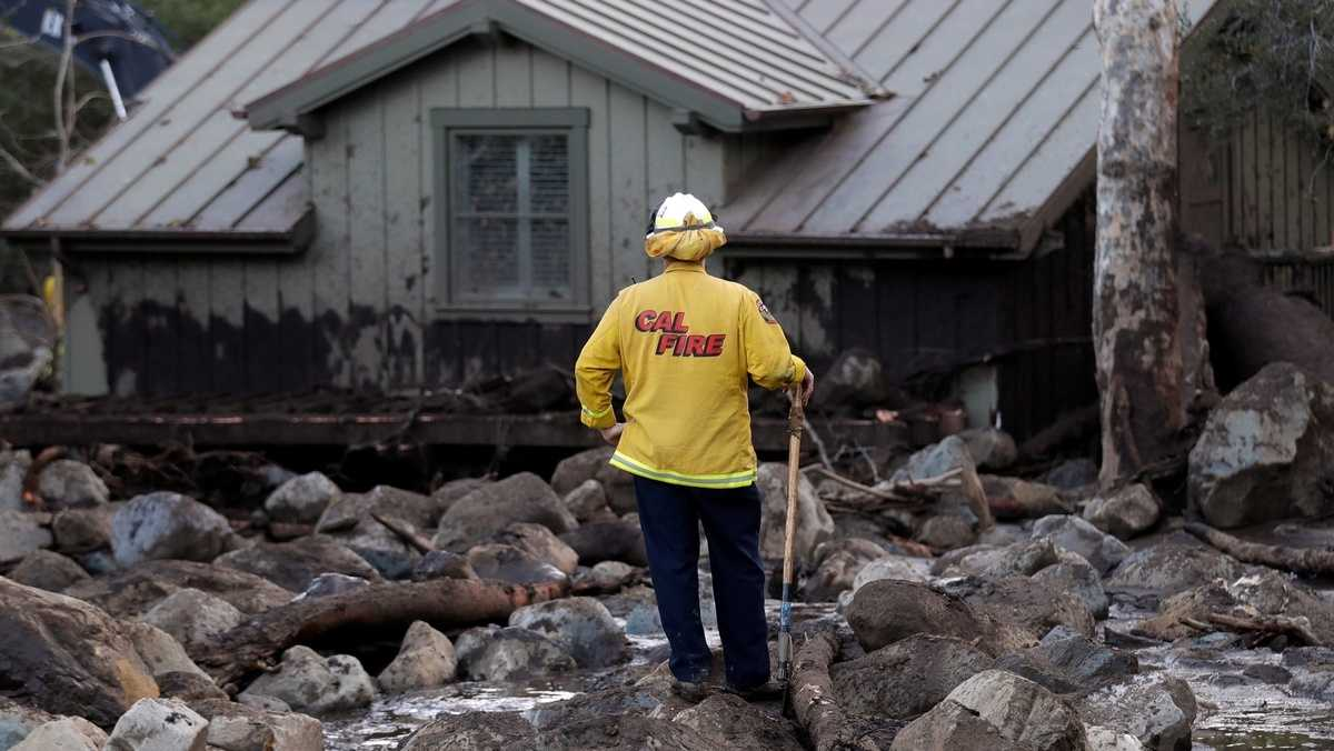 Highway 101 reopened as death toll from mudslides climbs to 21