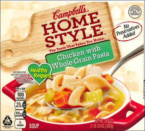 Campbell's recalls chicken soup with no allergy information on label