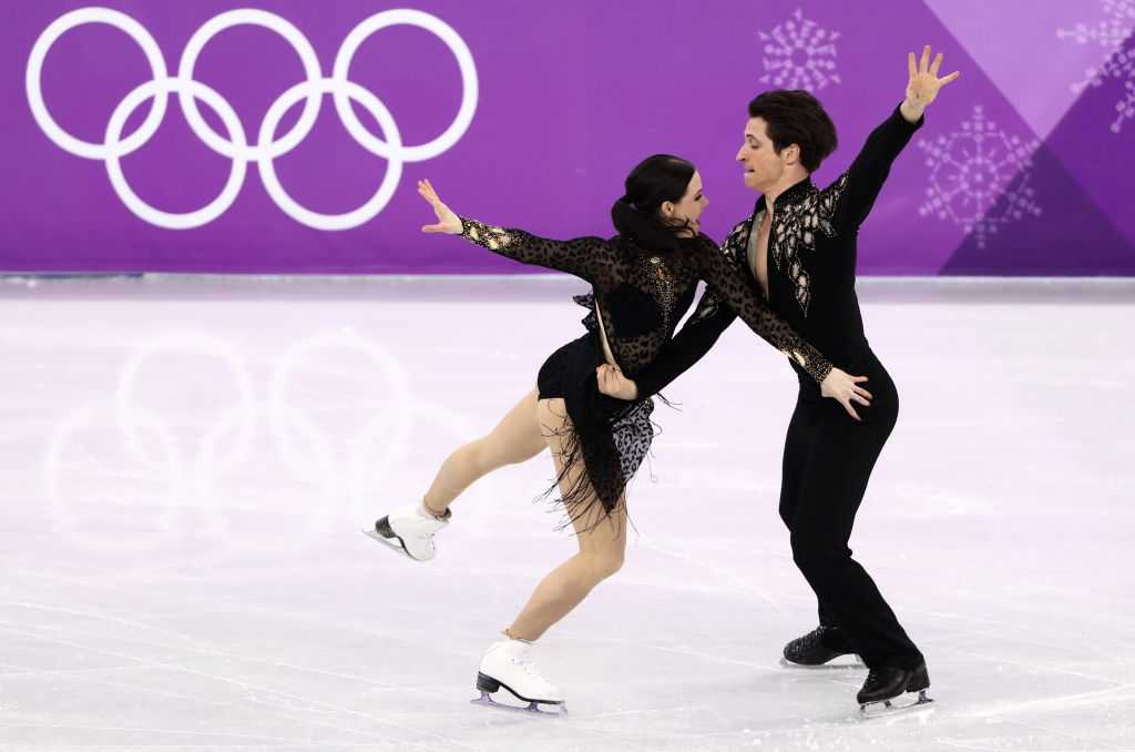 French, Canadians in Olympic ice dance