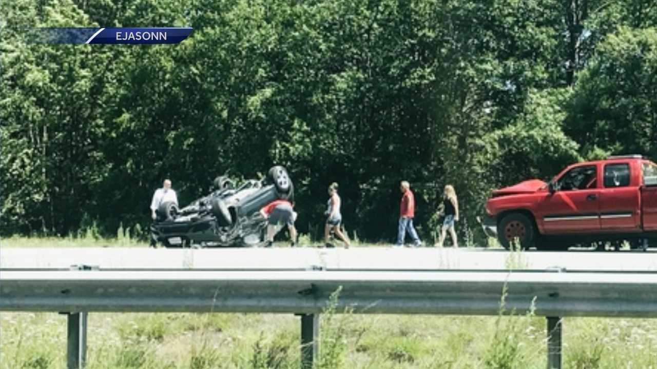Man dies following multi-car crash in Candia