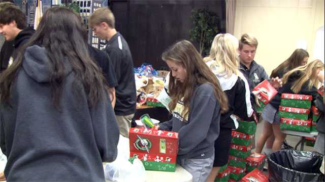 Collection continues for Operation Christmas Child
