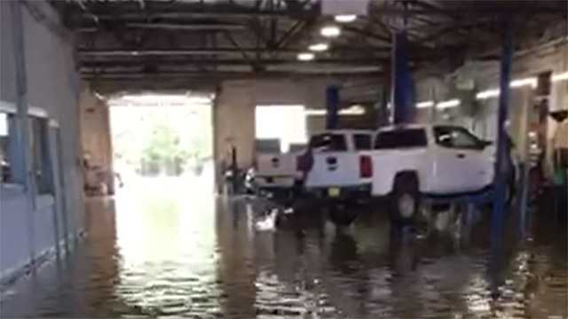 Mac Haik Chevrolet flooded
