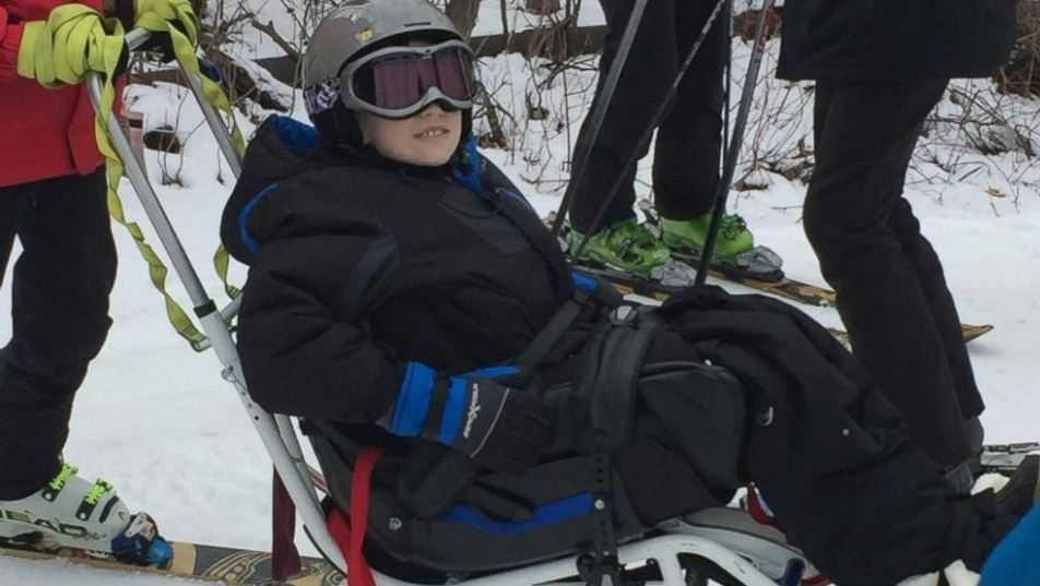 Ill skier