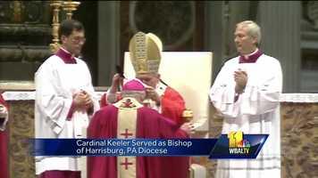 William Cardinal Keeler funeral