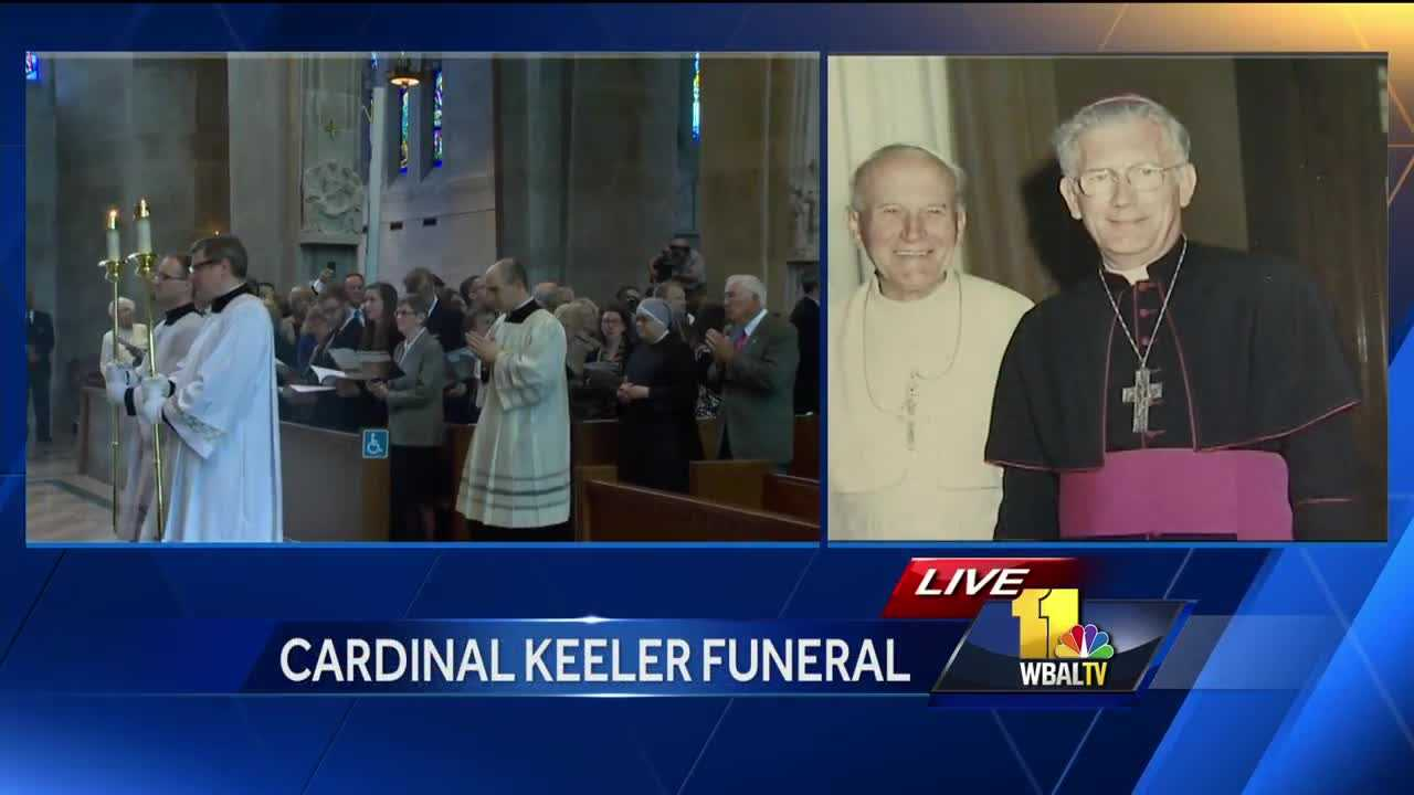 William Cardinal Keeler funeral