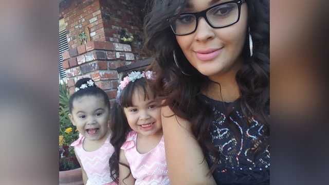 Two girls killed when auto-theft suspect crashed into the car they were traveling in.