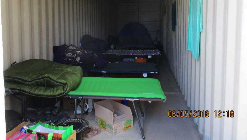The cargo container