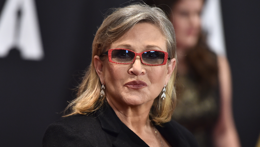 Carrie Fisher arrives at the Governors Awards at the Dolby Ballroom on Saturday, Nov. 14, 2015, in Los Angeles. (Photo by Jordan Strauss/Invision/AP)