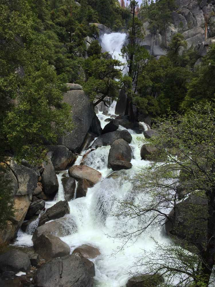 Cascade Fall in Yosemite National Park on Monday, May 8, 2017.
