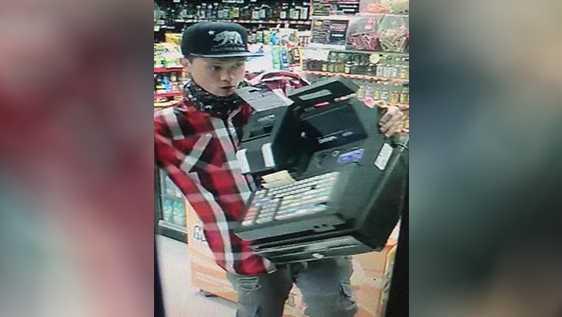 Lathrop cash register burglar
