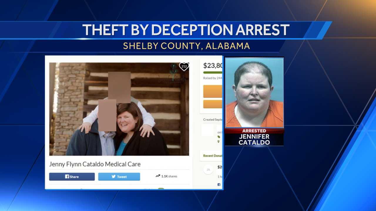 Woman accused of faking cancer, bilking family and friends of donations