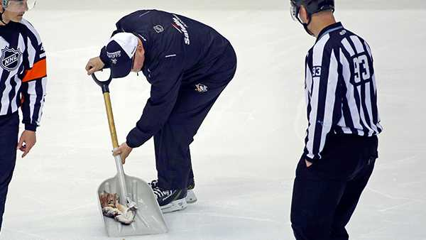 Predators goalie Rinne struggling as Pens take 2-0 lead