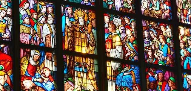Catholic church windows